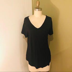 Cotton-On Black T-Shirt Tunic